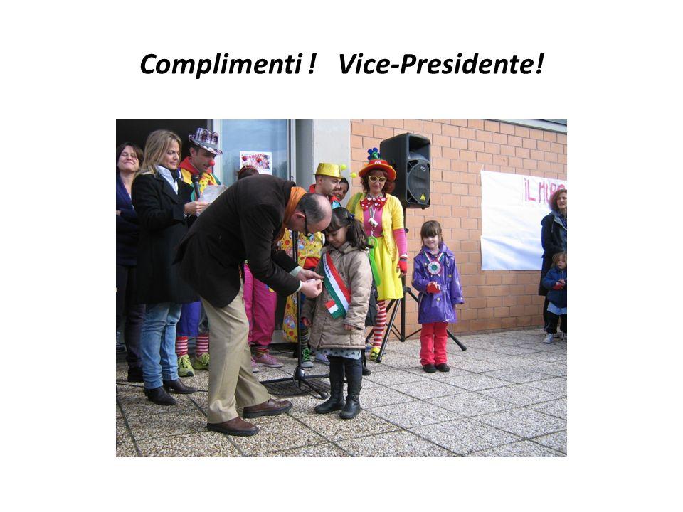 Complimenti ! Presidente!