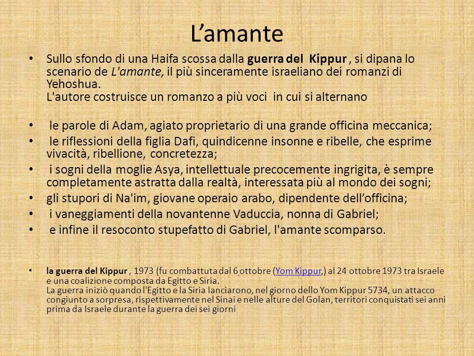 Alcune pagine: Parte I ( fino pag.43 ) la famiglia, la scomparsa di Gabriel Voce di Adam..