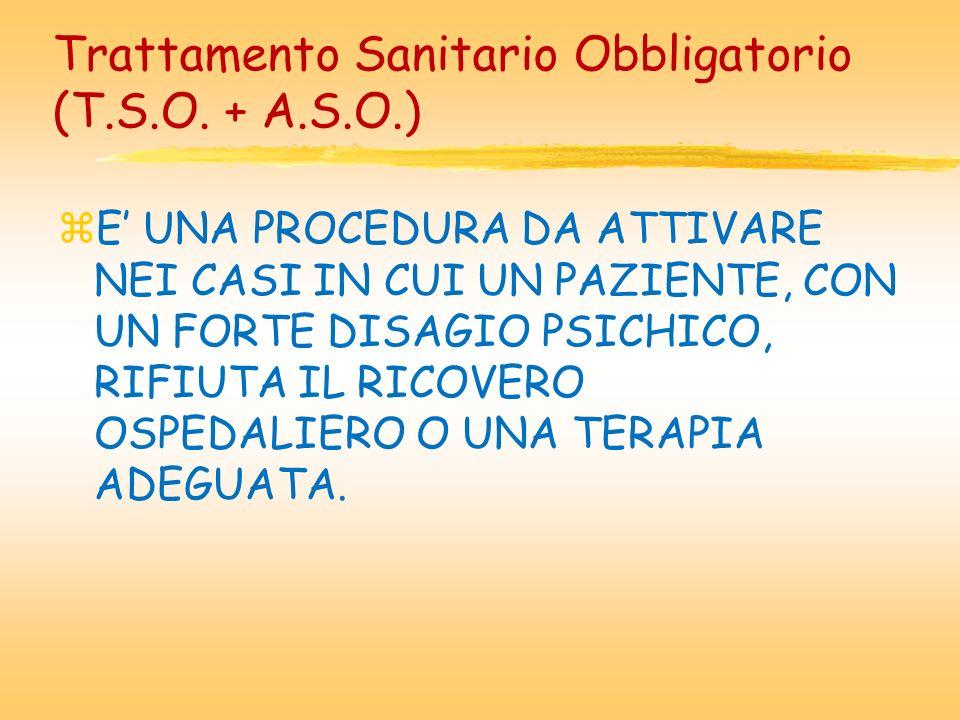 Trattamento Sanitario Obbligatorio (T.S.O.