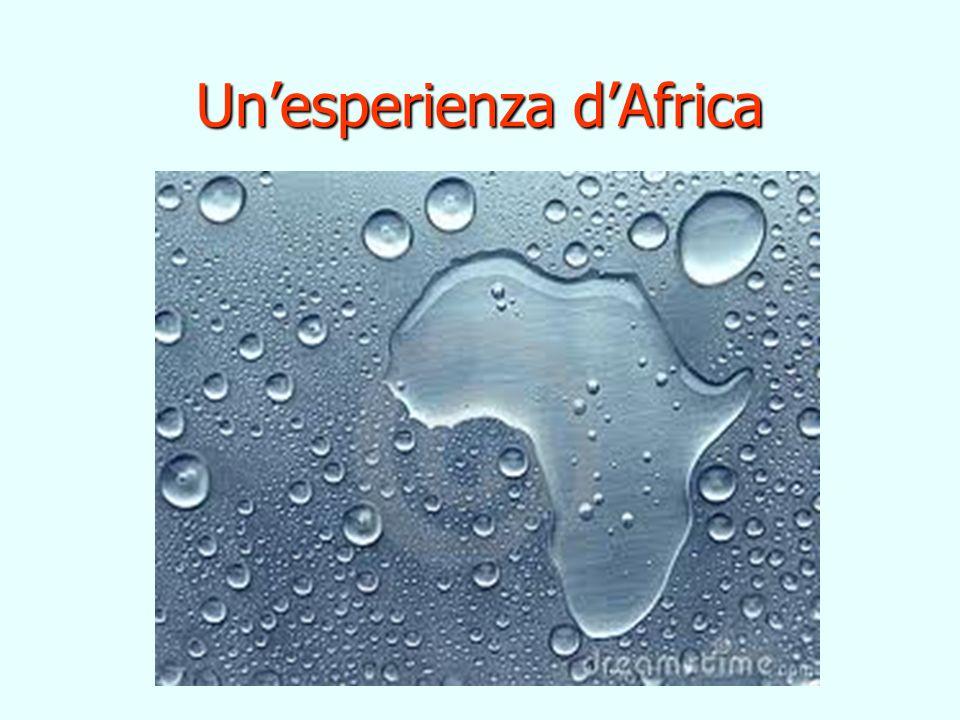 Unesperienza dAfrica