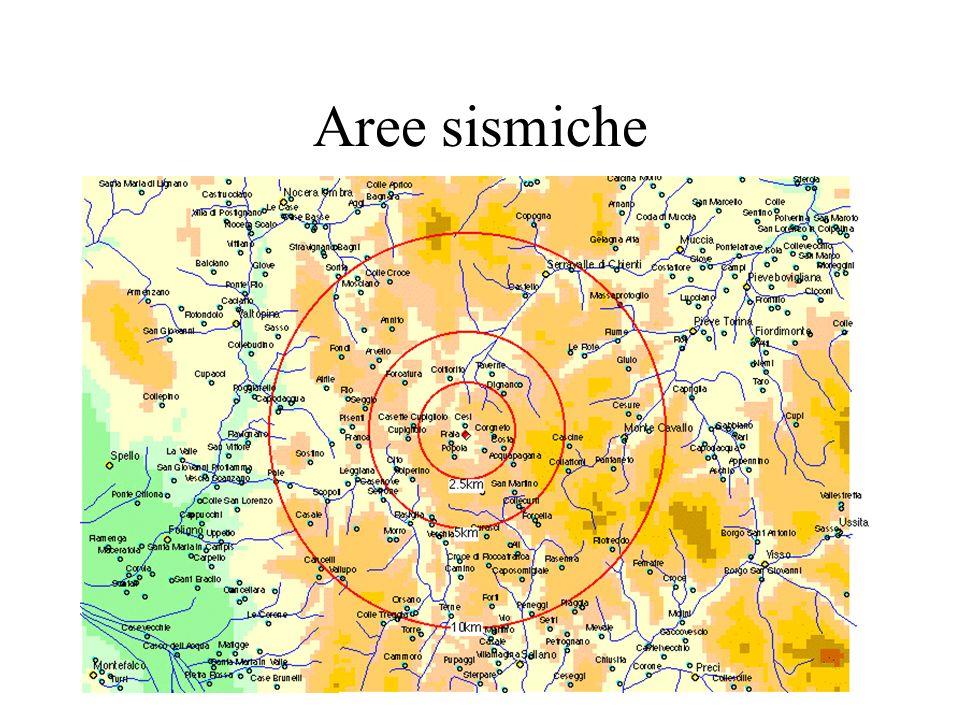 Aree sismiche