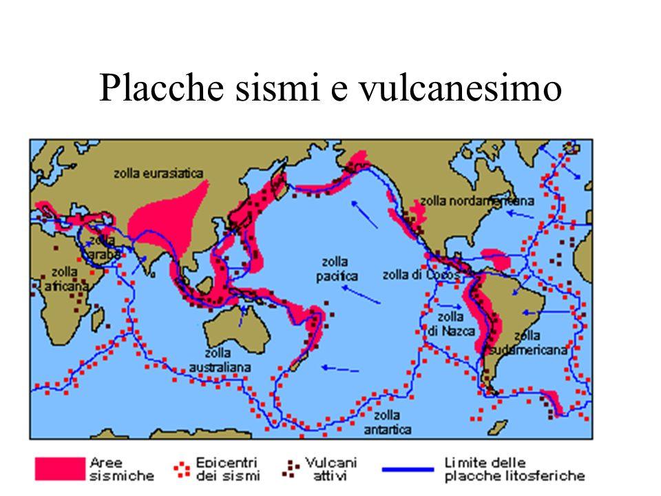 Placche sismi e vulcanesimo