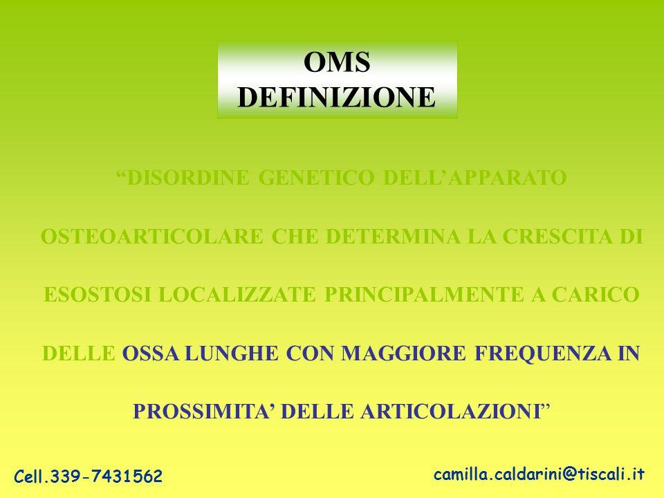 ESOSTOSI PERIARTICOLARI SQUILIBRIO ARTICOLARE USURA ARTROSI PRECOCE camilla.caldarini@tiscali.it Cell.339-7431562