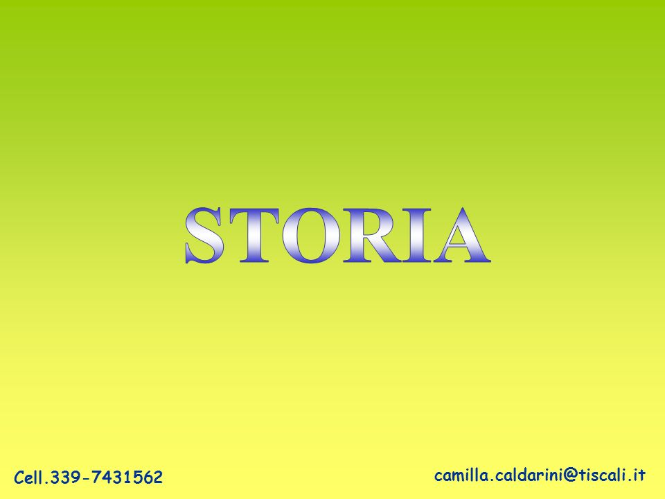 camilla.caldarini@tiscali.it Cell.339-7431562