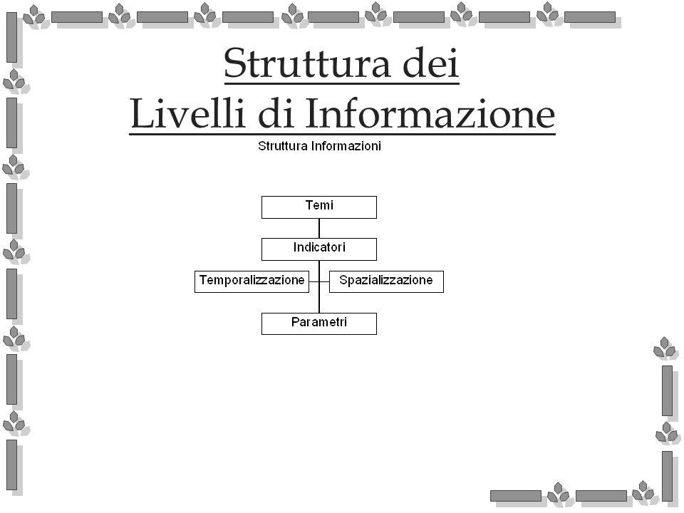 Struttura dei Livelli di Informazione