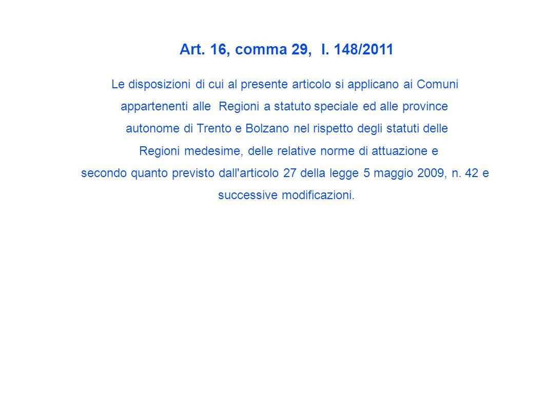 Art. 16, comma 29, l.