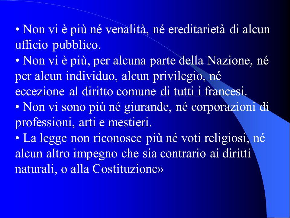 IL MOVIMENTO COSTITUZIONALISTA IL MOVIMENTO COSTITUZIONALISTA 1791: Costituzione francese Costituzione francese «LAssemblea nazionale, volendo stabili
