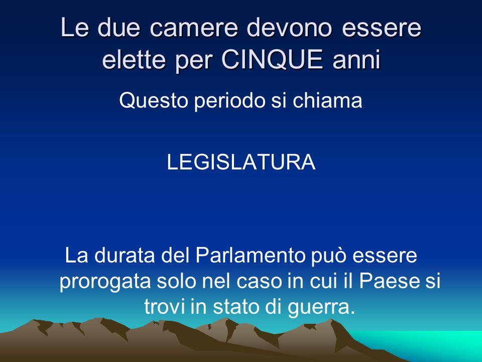 LE FUNZIONI DEL PARLAMENTO Le competenze del Parlamento sono numerose; tra le più importanti ricordiamo LA FUNZIONE LEGISLATIVA