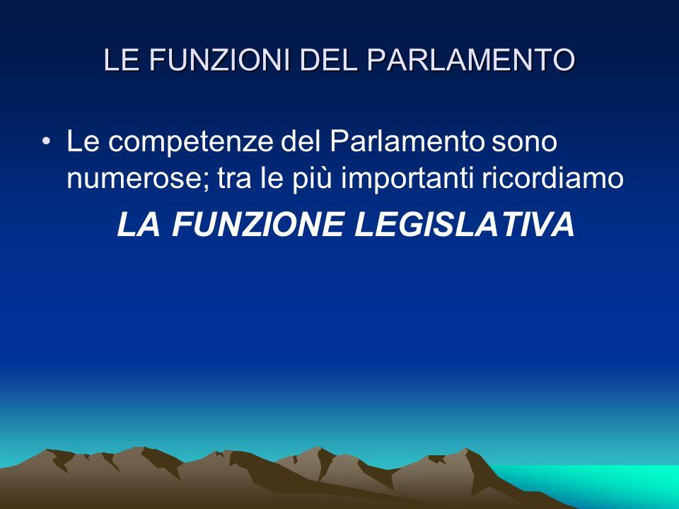 LE LEGGI POSSONO ESSERE COSTITUZIONALI : emanate dal parlamento, modificano la Costituzione ORDINARIE : approvate dal Parlamento, regolano landamento della vita sociale.