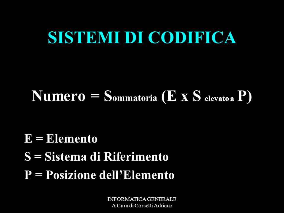 INFORMATICA GENERALE A Cura di Corsetti Adriano DATI SU LINEA DA ANALOGICI A DIGITALI