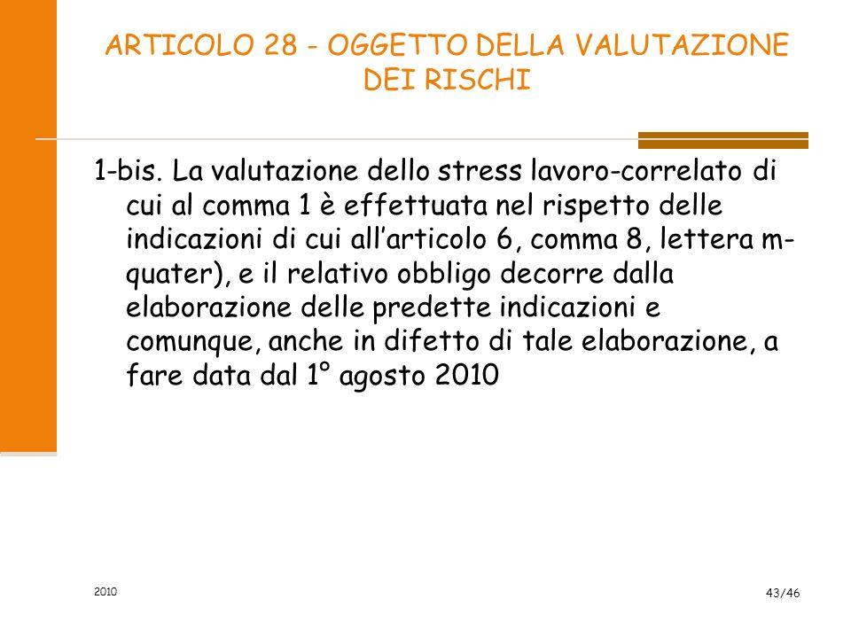 2009 42/102 Articolo 29 Modalità di effettuazione della valutazione dei rischi (rif.: art 4 d.lgs. n. 626/1994) Il datore di lavoro effettua la valuta