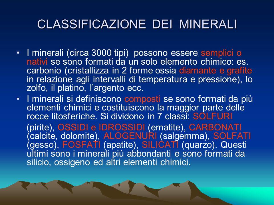 I CRISTALLI I cristalli sono corpi poliedrici ( cubi, ottaedri, prismi, ecc..) di forma regolare e dotati di spigoli, facce, piani, disposti secondo d
