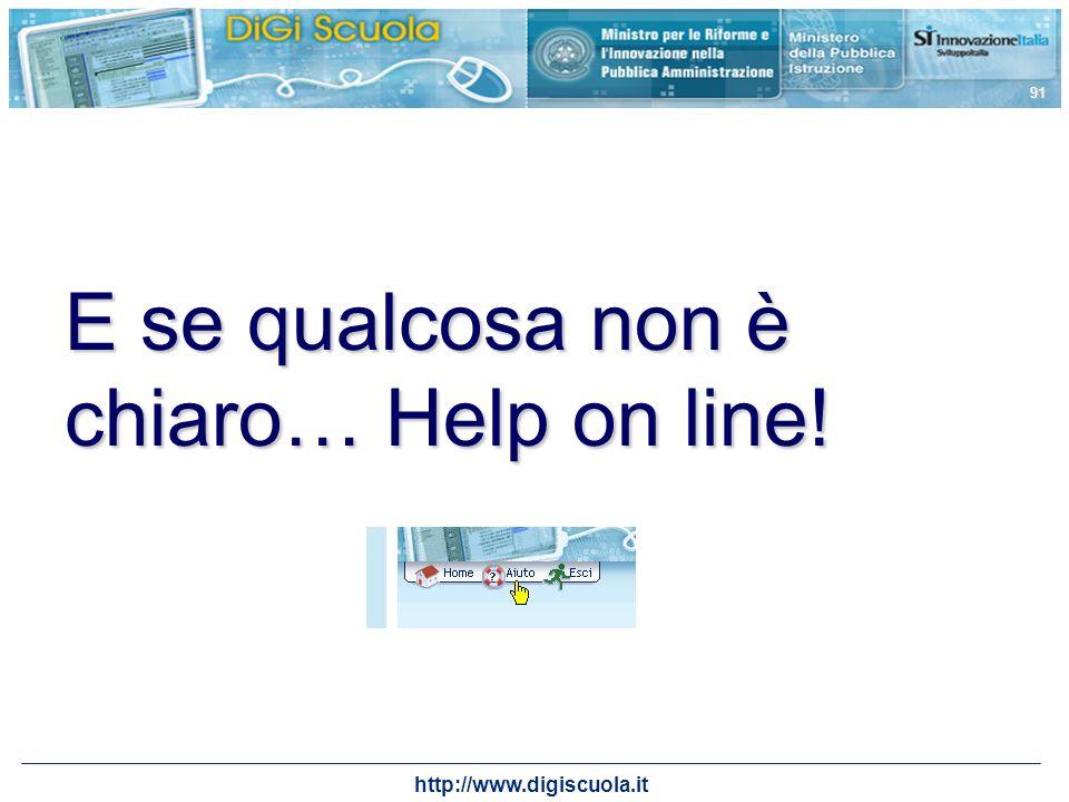http://www.digiscuola.it 91 E se qualcosa non è chiaro… Help on line!