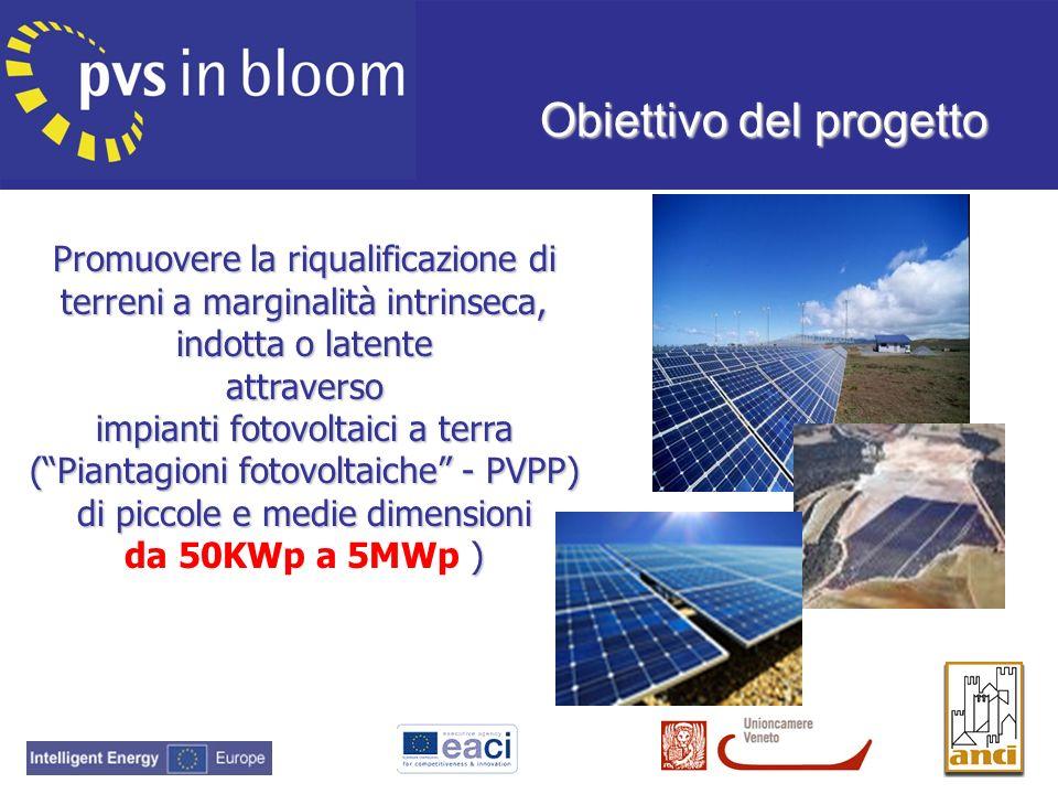 Promuovere la riqualificazione di terreni a marginalità intrinseca, indotta o latente attraverso impianti fotovoltaici a terra (Piantagioni fotovoltai