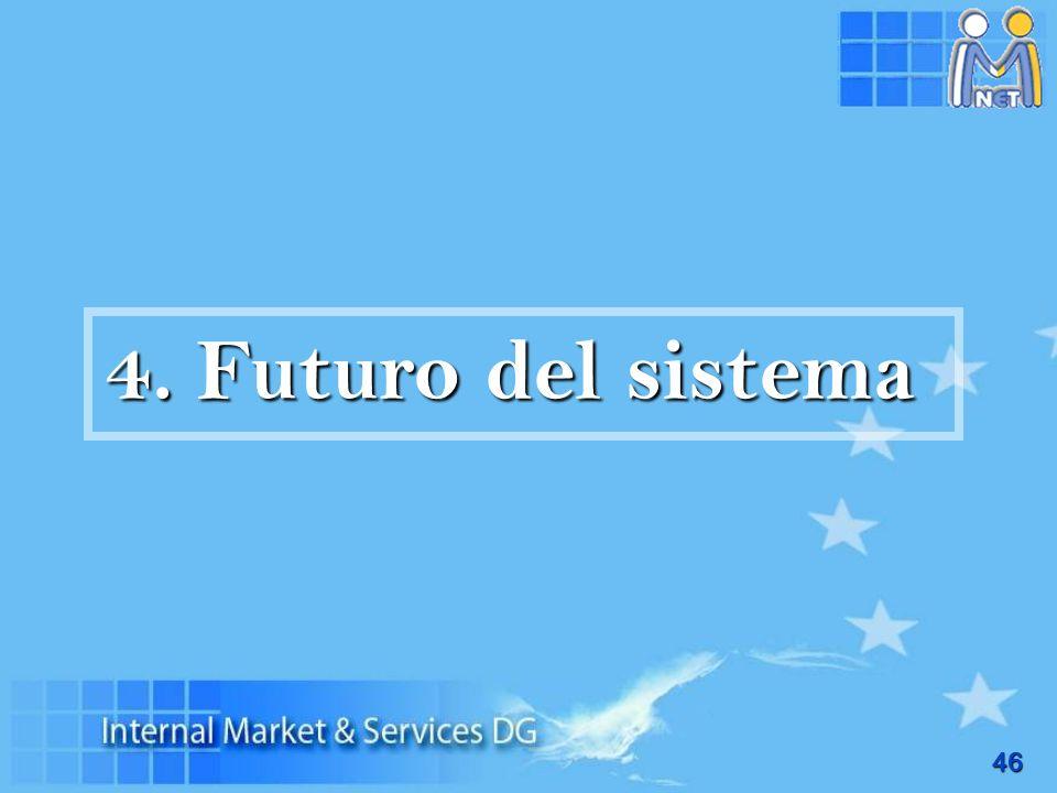 46 4. Futuro del sistema