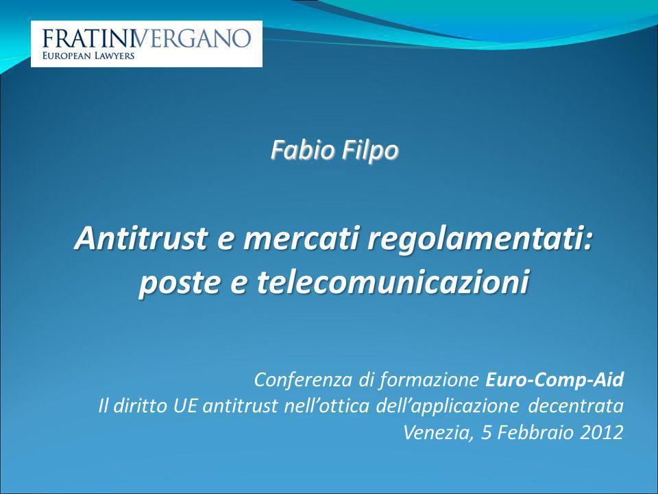 Obiettivo dellintervento antitrust: aspetti controversi Mercato (consumatori) vs.