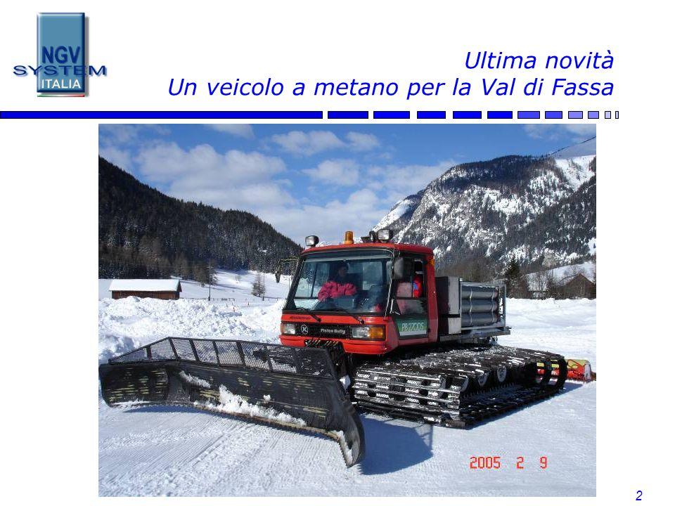 2 Ultima novità Un veicolo a metano per la Val di Fassa