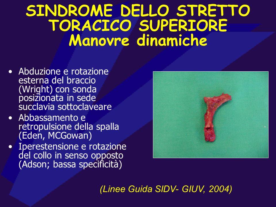 VALUTAZIONE ECO-COLOR-DOPPLER CIRCOLO ARTERIOSO (A.