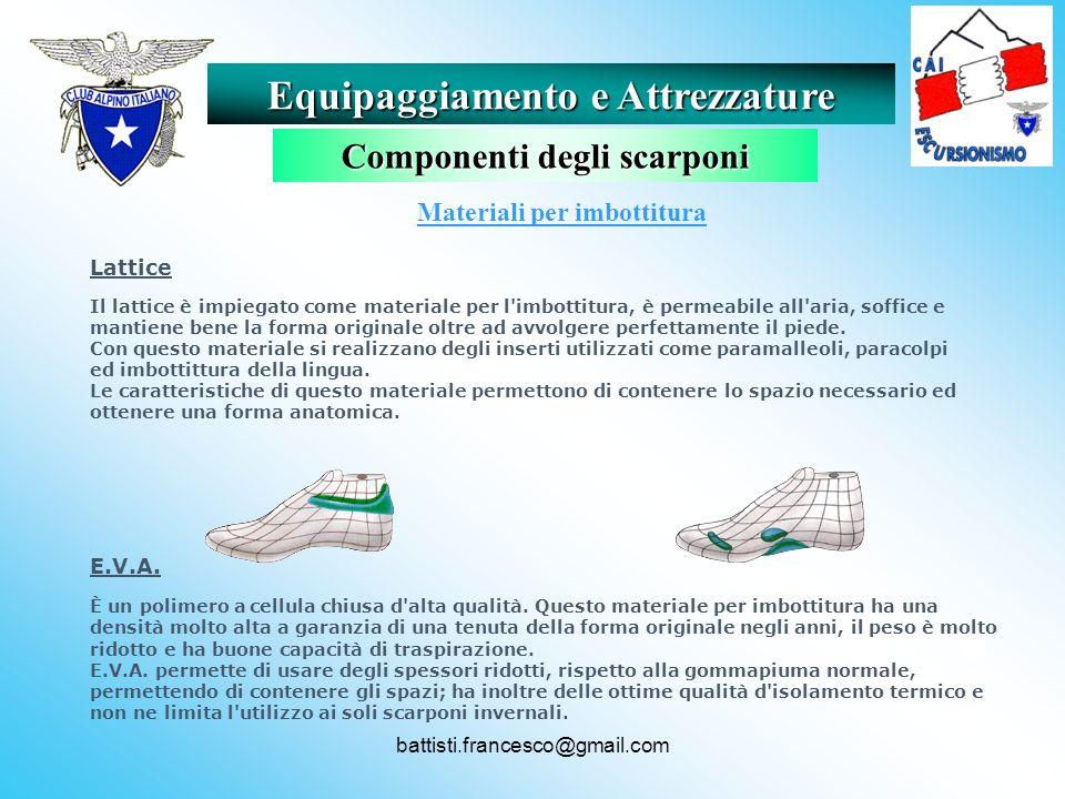 battisti.francesco@gmail.com Materiali per imbottitura Lattice Il lattice è impiegato come materiale per l'imbottitura, è permeabile all'aria, soffice