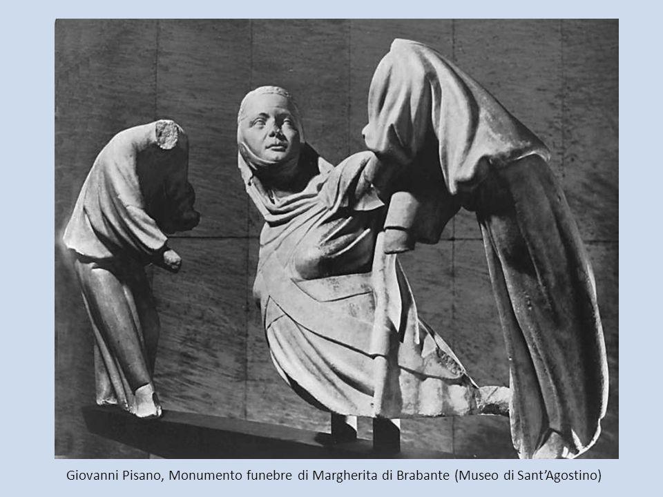 Giovanni Pisano, Monumento funebre di Margherita di Brabante (Museo di SantAgostino)