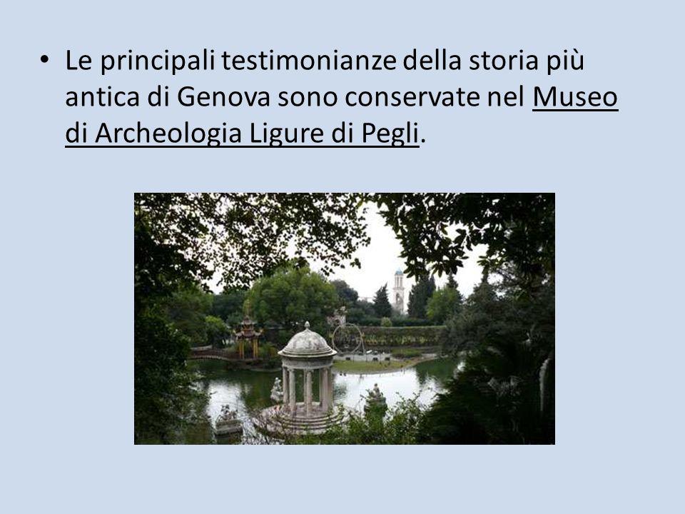 Nel panorama dei giardini storici, sia locale che nazionale, il parco romantico di villa Durazzo Pallavicini occupa un posto di rilievo.