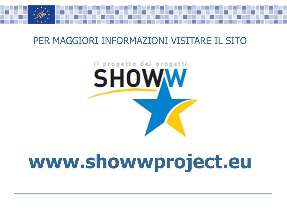 Name, Surname, Position Logo(s) PER MAGGIORI INFORMAZIONI VISITARE IL SITO www.showwproject.eu