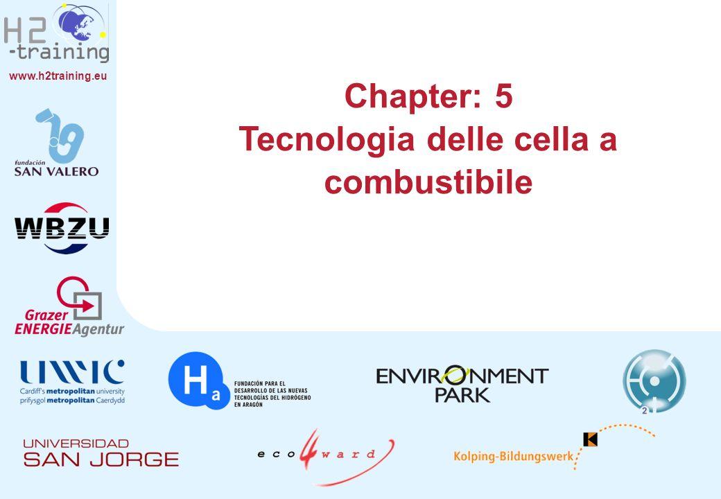 www.h2training.eu Chapter: 5 Tecnologia delle cella a combustibile