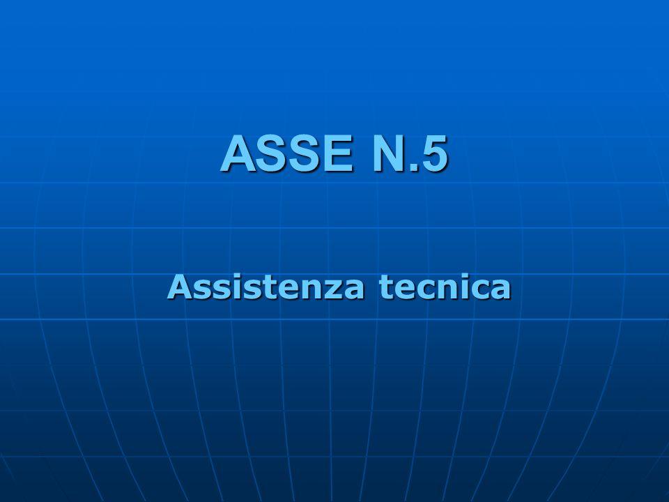 ASSE N.5 Assistenza tecnica