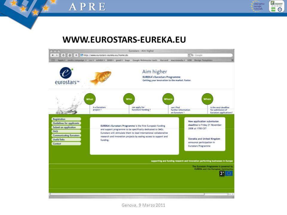 WWW.EUROSTARS-EUREKA.EU