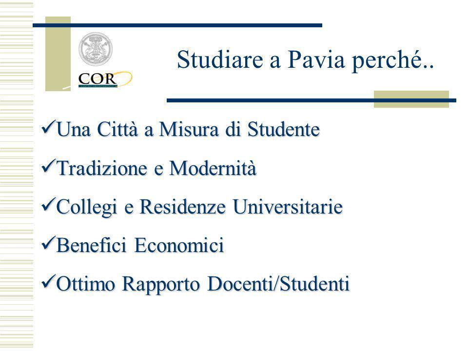 Una Città a Misura di Studente Una Città a Misura di Studente Tradizione e Modernità Tradizione e Modernità Collegi e Residenze Universitarie Collegi