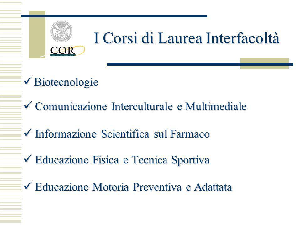 Biotecnologie Biotecnologie Comunicazione Interculturale e Multimediale Comunicazione Interculturale e Multimediale Informazione Scientifica sul Farma