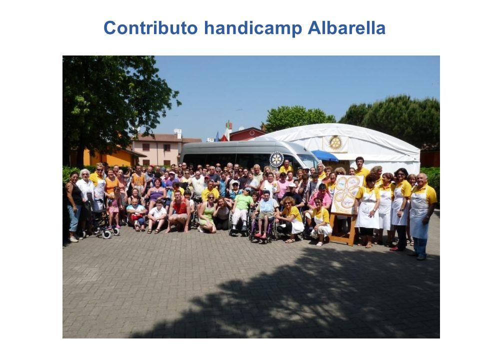 Contributo handicamp Albarella