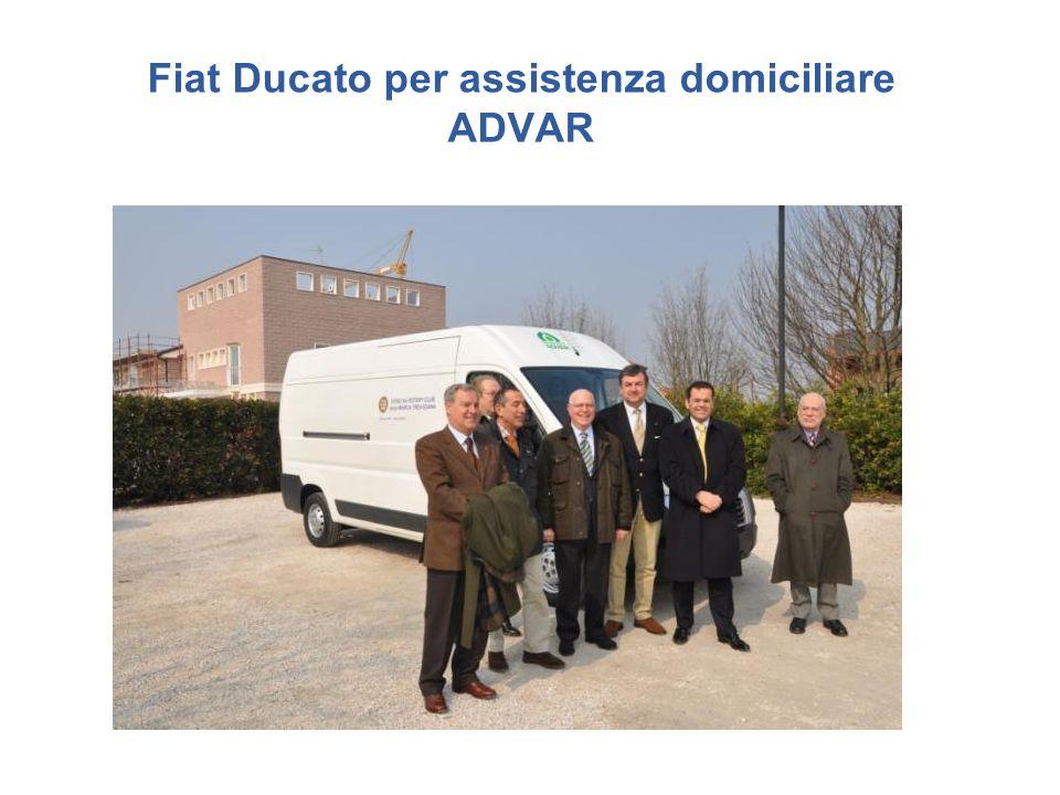 Fiat Ducato per assistenza domiciliare ADVAR