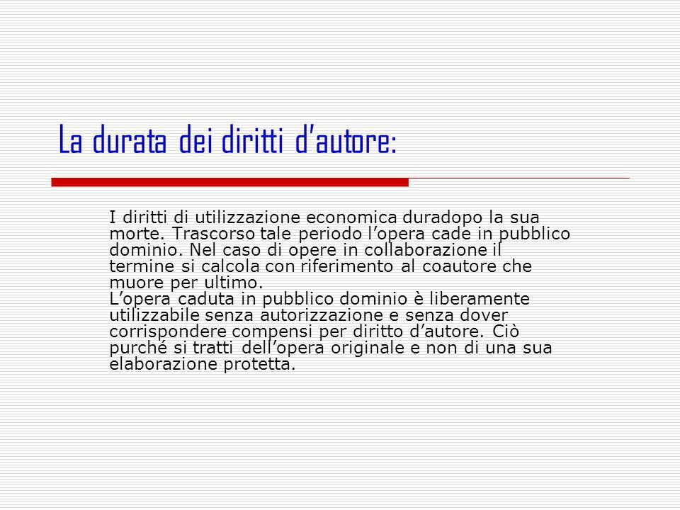 È La Società Italiana degli Autori ed Editori (SIAE) è un ente pubblico economico a base associativa, preposto alla protezione e all esercizio dei diritti d autore.