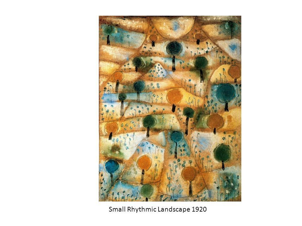 Small Rhythmic Landscape 1920