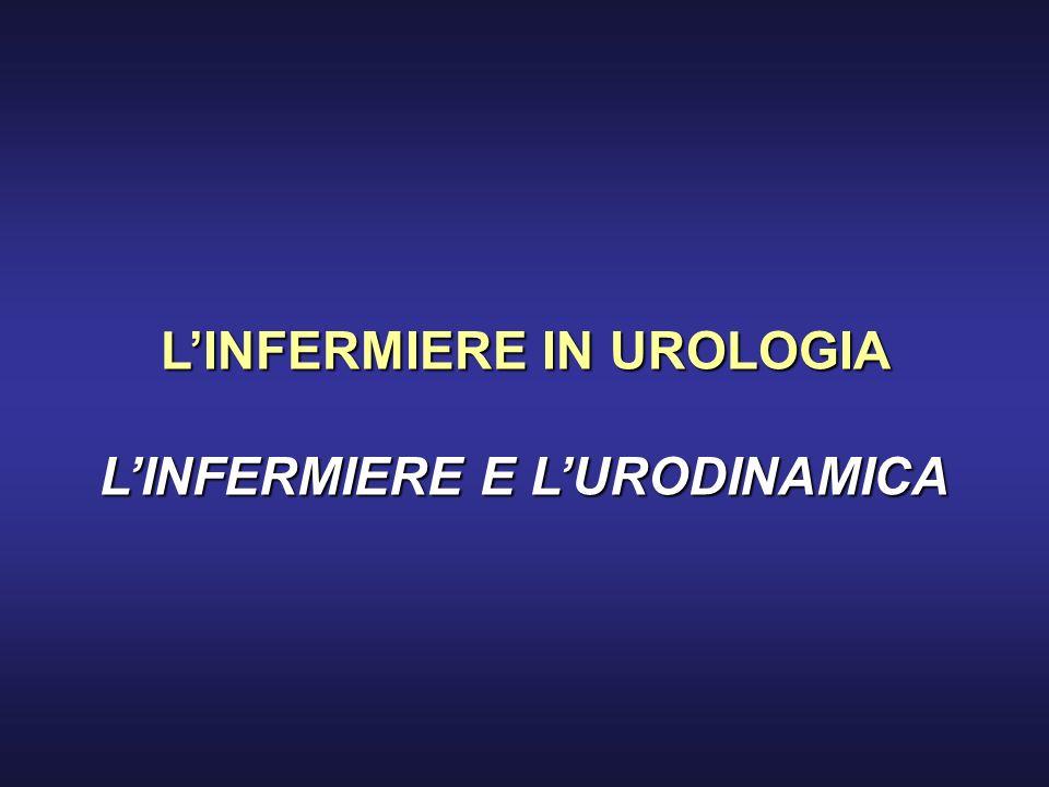 LINFERMIERE IN UROLOGIA LINFERMIERE E LURODINAMICA