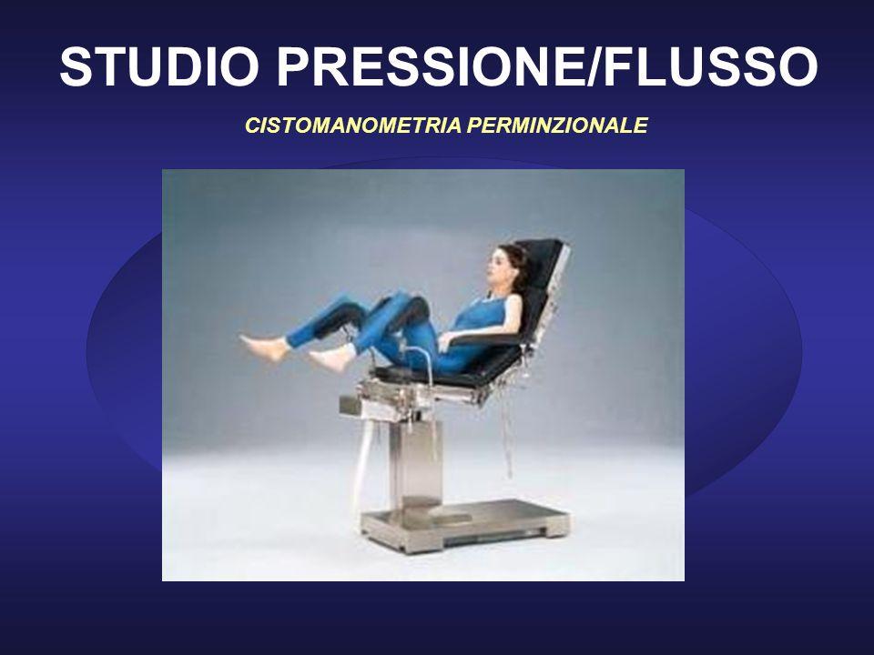 STUDIO PRESSIONE/FLUSSO CISTOMANOMETRIA PERMINZIONALE