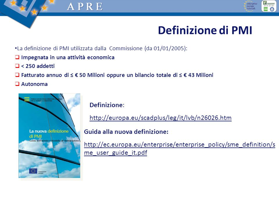 Key figures 280.000 Euro average EU-contribution per SME participant 5 billion Euro EU-contribution for SMEs in FP7 Cooperation PRogramme 20.000 SMEs will benefit from FP7 What does EU research cost to the tax payer.