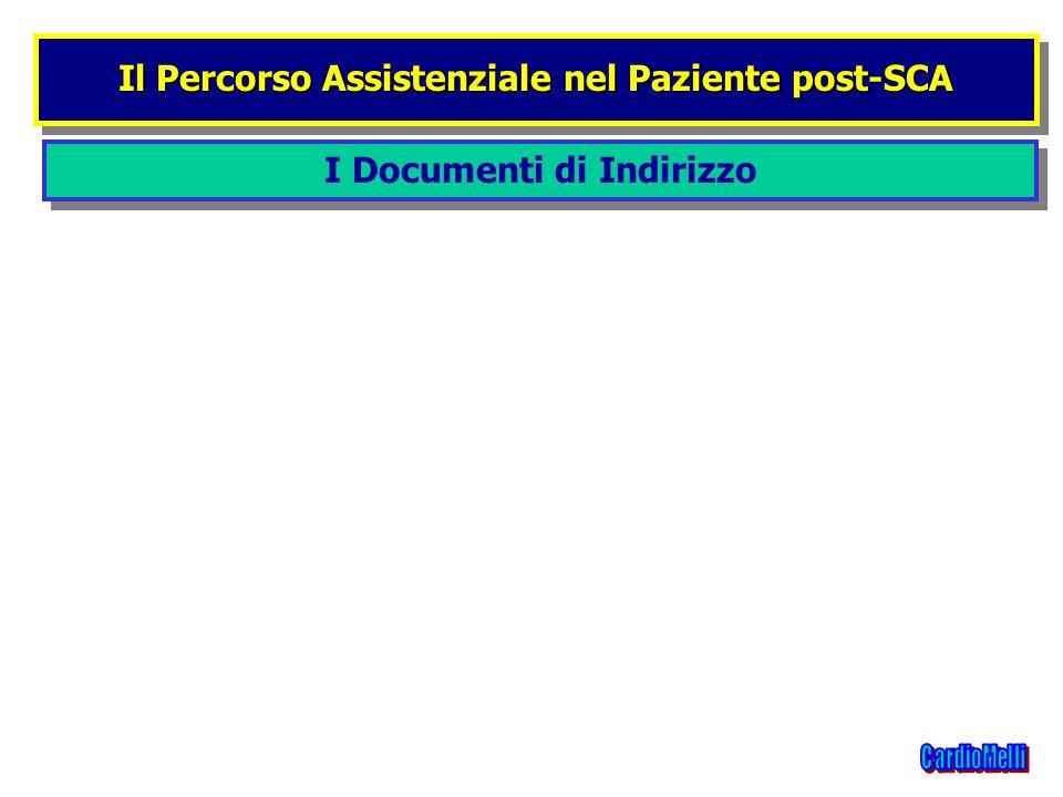 I Documenti di Indirizzo Il Percorso Assistenziale nel Paziente post-SCA