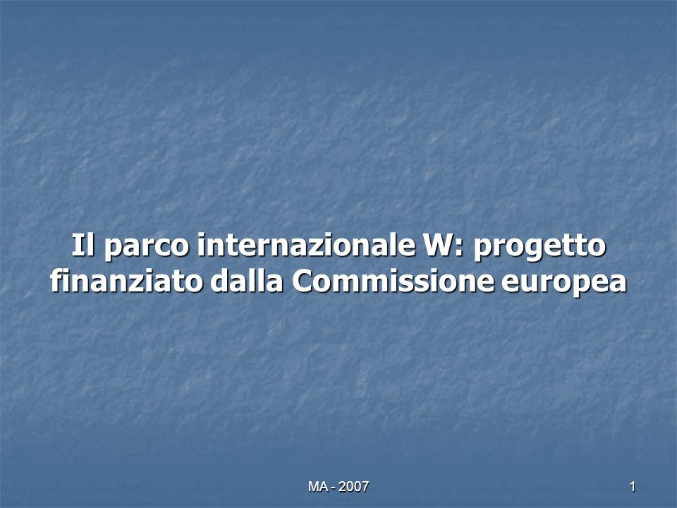 MA - 20071 Il parco internazionale W: progetto finanziato dalla Commissione europea