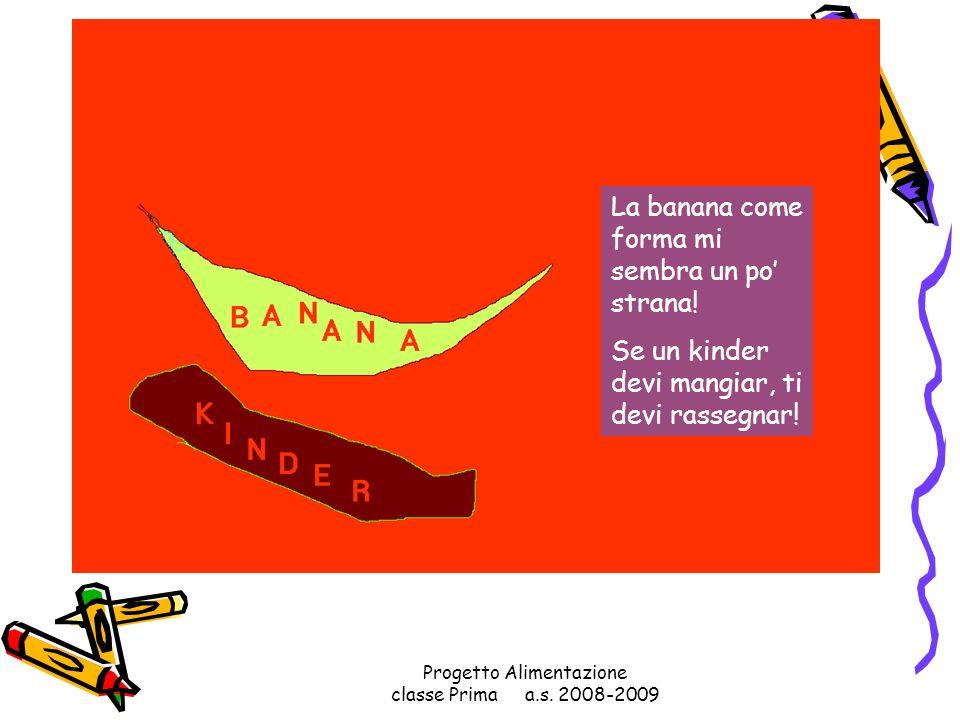 Progetto Alimentazione classe Prima a.s. 2008-2009 Mi fareste un panino con lhamburger? Con quella cipolla grande come una bolla? Con la salsiccia pie