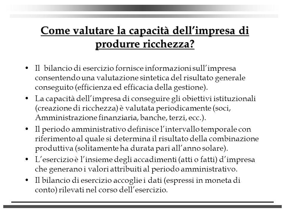 La contabilità generale Le regole di funzionamento (SEGUE) LO STRUMENTO DI RACCOLTA La CO.GE.
