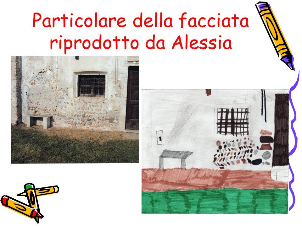 21 Particolare della facciata riprodotto da Alessia