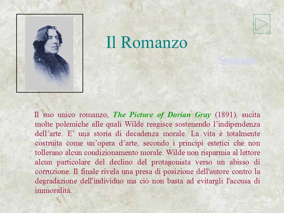 La Prosa La Prosa Poeta e scrittore versatile, Wilde ci ha lasciato una vasta opera. Alla prima fase produttiva di Wilde appartengono due volumi di fi