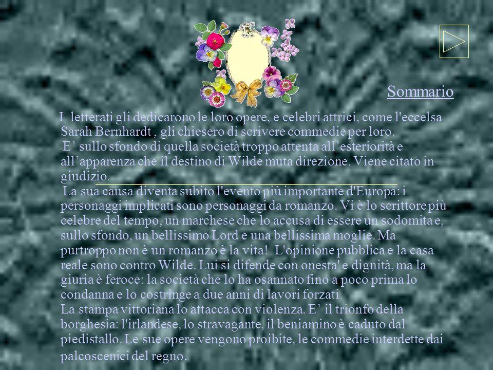 I letterati gli dedicarono le loro opere, e celebri attrici, come l eccelsa Sarah Bernhardt, gli chiesero di scrivere commedie per loro.
