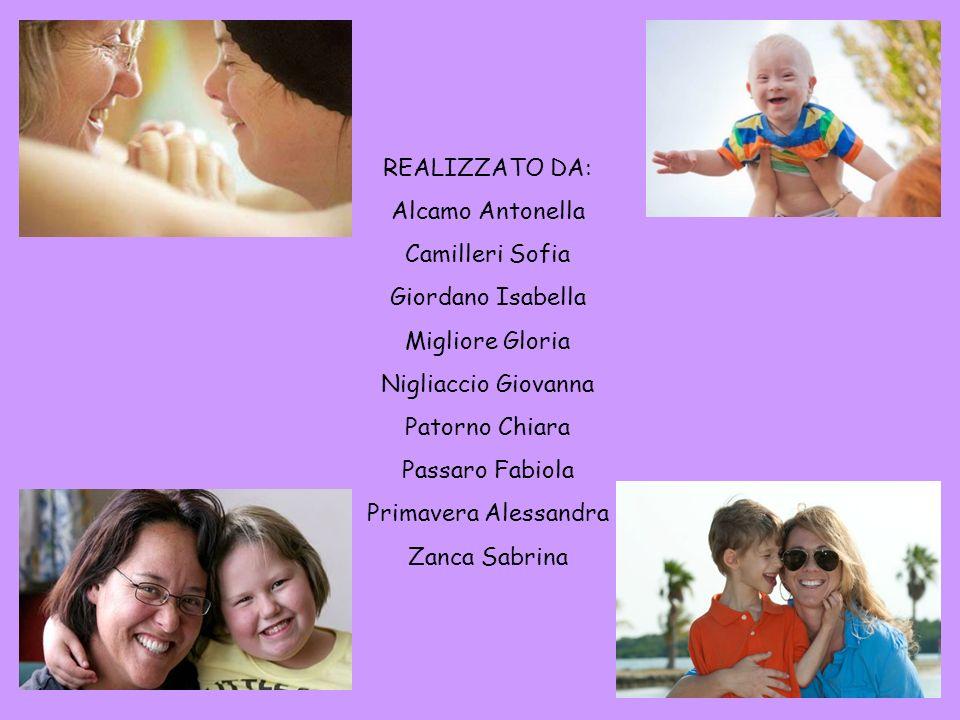 REALIZZATO DA: Alcamo Antonella Camilleri Sofia Giordano Isabella Migliore Gloria Nigliaccio Giovanna Patorno Chiara Passaro Fabiola Primavera Alessan