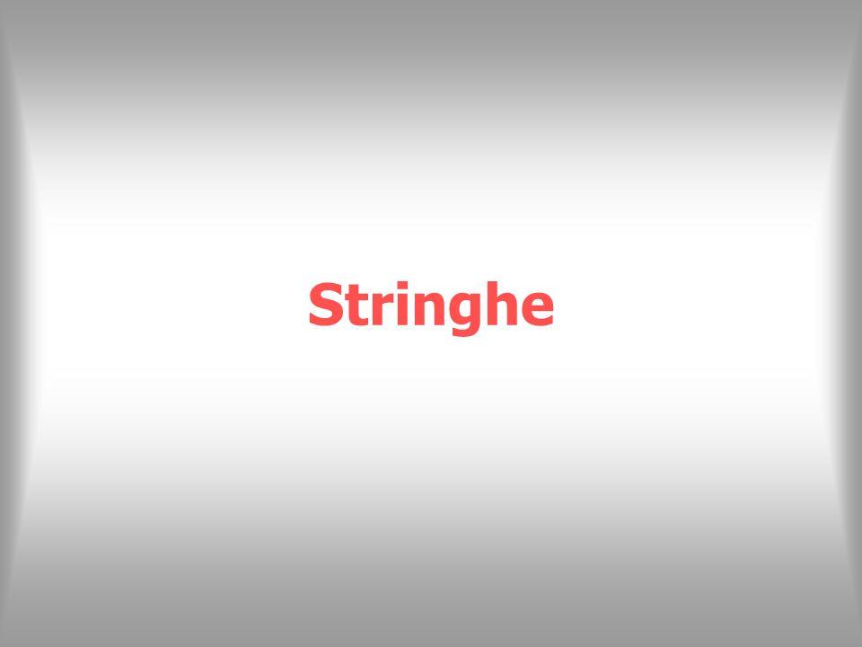 Stringhe