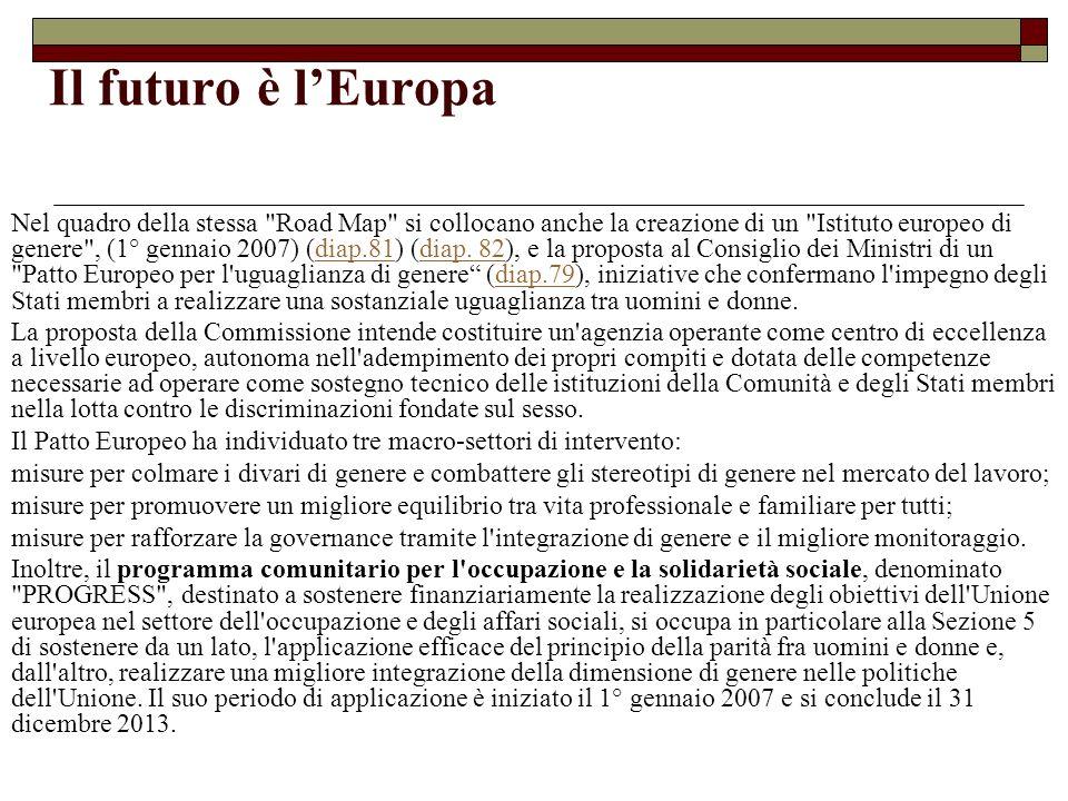 Il futuro è lEuropa Nel quadro della stessa