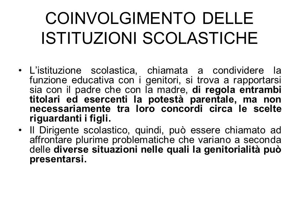 In tal senso la pronuncia del Tribunale per i minorenni di Ancona – decreto 7/1/2008 n.
