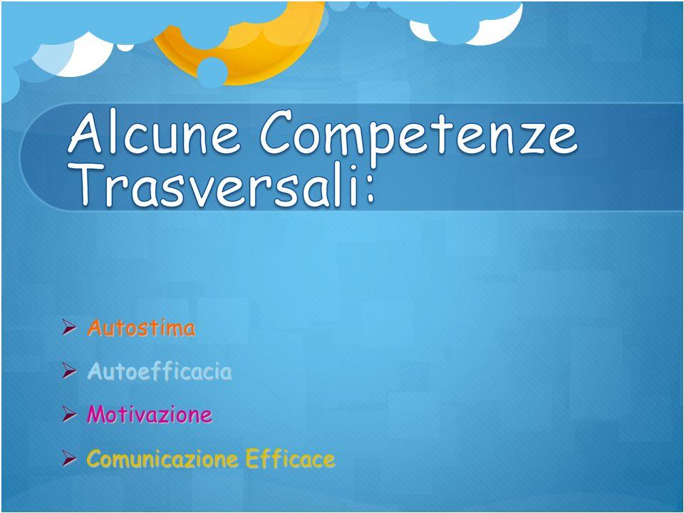 Autostima Autostima Autoefficacia Autoefficacia Motivazione Motivazione Comunicazione Efficace Comunicazione Efficace
